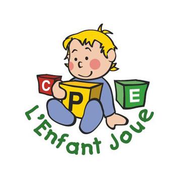 L'enfant joue - Logo
