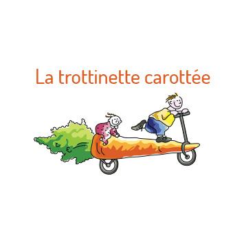 La trottinette carottée - Logo